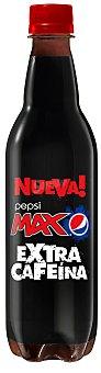 Pepsi Refresco de cola max zero azúcar Botella de 50 cl