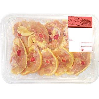 Delicias de Pollo Amarillo - Peso Aproximado Bandeja 600 g