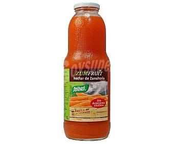 SANTIVERI ZUMFRUIT Zumo de zanahoria sin azucar frasco 1 l Frasco 1 l