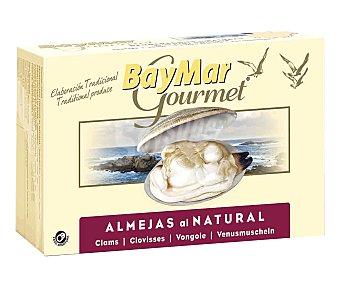 Baymar Almejas al natural, Rías Gallegas gourmet 63 g
