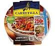 Lentejas con chorizo Tarrina 300 g Carretilla