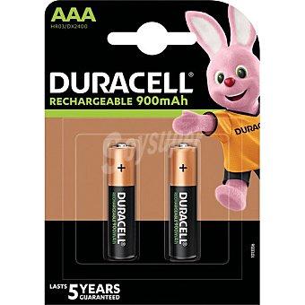 Duracell Ultra pila recargable AAA 850 mAh blister 2 unidades Blister 2 unidades