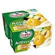 Yogur Activ bifidus sabor ciruela sin gluten Pack 4x125 g CLESA
