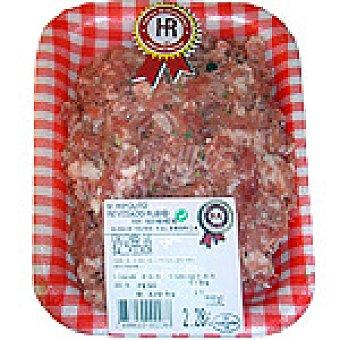 H.R. Chichas de salchichón peso aproximado Bandeja 350 g