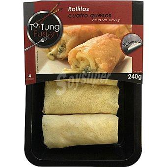 Ta Tung Rollitos cuatro quesos Bandeja 240 g