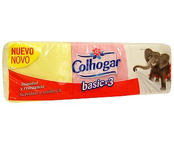 Colhogar Servilletas desechables color 180 uds