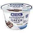 Yogur griego de café 0% m.g Envase 150 g Mevgal