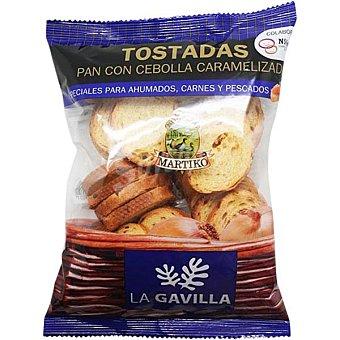 La Gavilla Mini biscotes con cebolla Bolsa 80 g