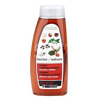 Les Cosmétiques Champú Henna & Avellana para cabello castaño - Nectar of Nature 500 ml