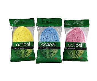 Actibel Esponja vegetal colores surtidos 1 unidad