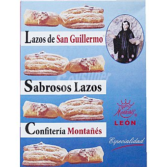 MONTAÑES Lazos San Guillermo estuche 250 g Estuche 250 g