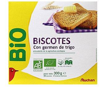 Auchan Biscottes con germen de trigo 300 gramos