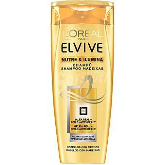 Elvive L'Oréal Paris Champú mechas nutre & ilumina para cabello con mechas Frasco 300 ml