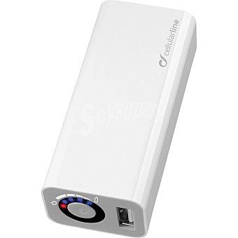 CELLULAR LINE Batería Externa USB Pocket Charger para dispositivos portátiles con usb/micro USB
