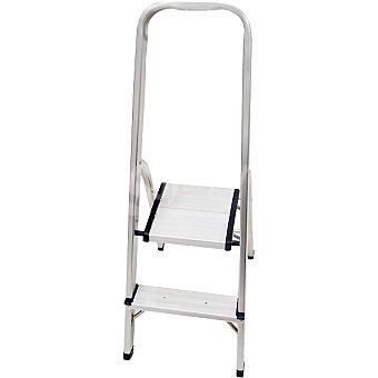 Hipercor R16602 escalera de aluminio con 2 peldaños