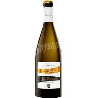 HEREDAD DE EMINA Vino blanco chardonnay fermentado en barrica de la tierra de Castilla y León Botella 75 cl