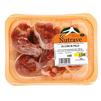Delicias de pollo Bandeja 500 gr