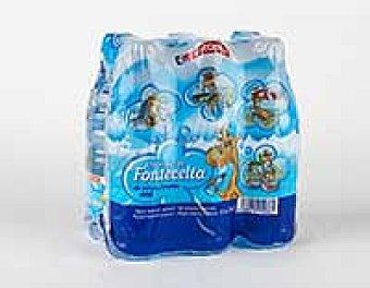 EROSKI Agua mineral pack 6x33 cl