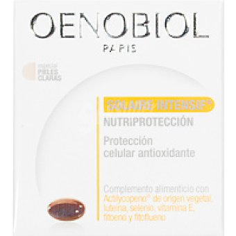OENOBIOL Solaire intensif nutriprot. en cápsulas Caja 30 unid