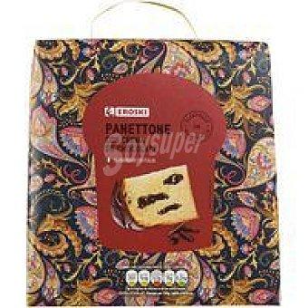 Eroski Panettone de chocolate Caja 800 g