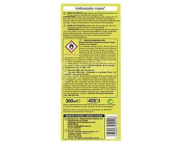 Productos Económicos Alcampo Ambientador spray neutro 300 mililitros