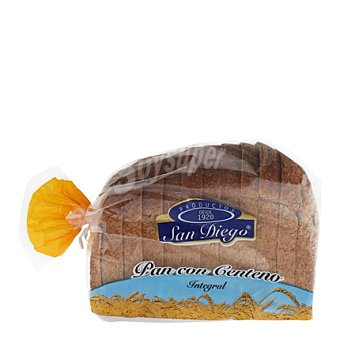 San diego Pan de centeno Integral 500 g