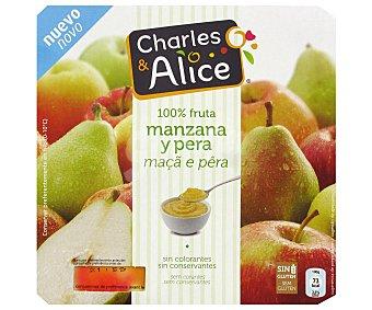 STADIUM Compota de Manzana y Pera sin Azúcar 4 x 100 g