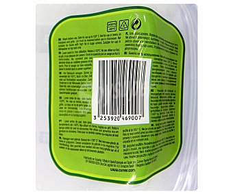 Curver Pack de recipientes herméticos cuadrados de plástico, capacidad de 0.6 litros, modelo sandwich take away 1 Unidad
