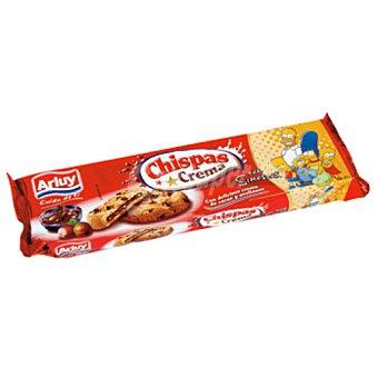 ARLUY galletas con pepitas de chocolate chispas crema estuche 160 gr