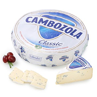 Iberconseil Queso azul Cambozola extragraso al corte 250 g aprox Envase de 250.0 g. aprox