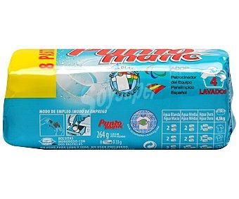 Puntomatic Detergente Tubo 4 lavados 8 unidades