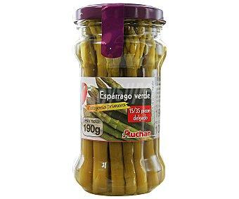 Auchan Espárrago verde 100 gramos peso escurrido