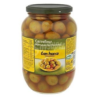 Carrefour Aceituna verde gazpacha 500 g