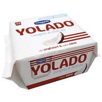 Yolado Danone Yolado de coco Pack 4x75 g