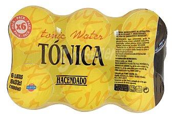 Hacendado Tónica Lata pack 6 x 33 cl - 1980 ml