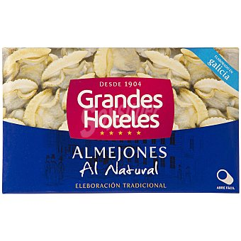 Grandes hoteles Almejones al natural Lata 65 gr