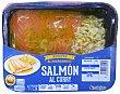 Salmón fresco al curry con arroz estilo oriental (para microondas)  Bandeja 275 g Caladero