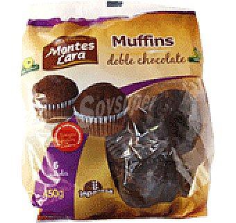 Montes Lara Magdalenas Muffins doble choco 450 GRS