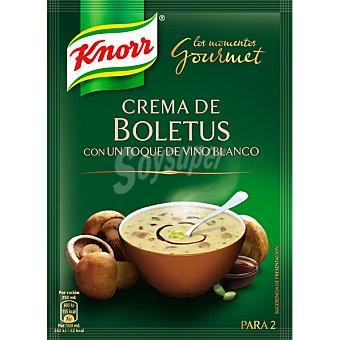 KNORR LOS MOMENTOS GOURMET crema de boletus con un toque de vino blanco  sobre 61 g