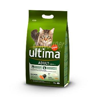 Ultima Affinity Alimento de salmón y arroz gato adulto Saco 3 kg