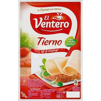 El Ventero Queso tierno 8 lonchas finisimas Bandeja 160 g