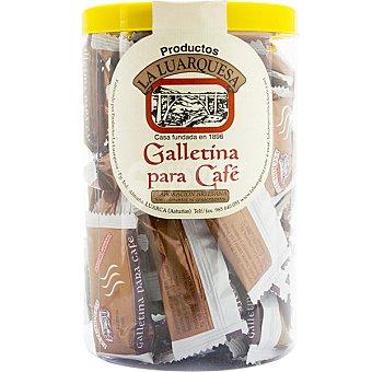 LA LUARQUESA Galletinas para café elaboración artesanal Bote 500 g