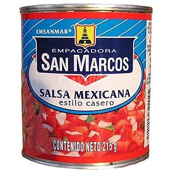 SAN MARCOS Salsa mexicana estilo casero Lata 215 g