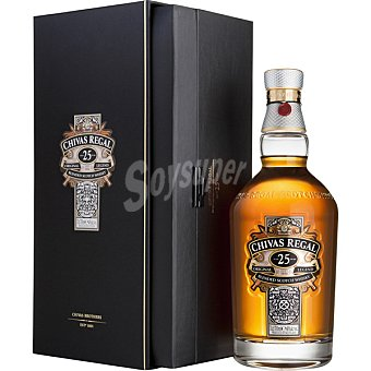 Chivas Regal Whisky escocés Original 25 años Botella 70 cl