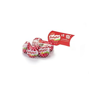 Babybel Queso edam mini Pack 6 x 20 g