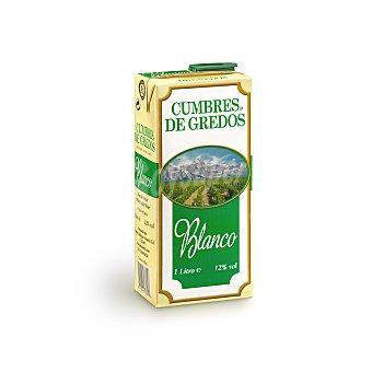 CUMBRE DE GREDOS Vino blanco  Envase 1 l