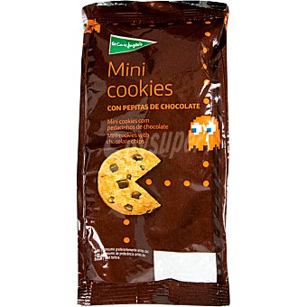 Aliada Mini cookies con trocitos de chocolate Bolsa 100 g