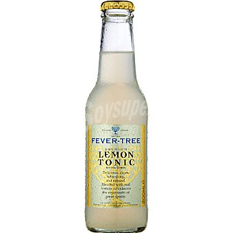 FEVER TREE Premium Refresco tónica con limón Botella 200 ml