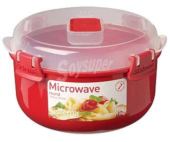 Sistema Recipiente hermético especial para microondas, de capacidad microwave 0,91 litros
