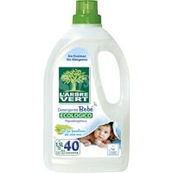 V. Detergente líquido eco. bebé l'arbre Garrafa 40 dosis